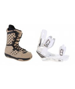 Burton Shaun White Collection Snowboard Boots w/ Burton C60 Bindings White