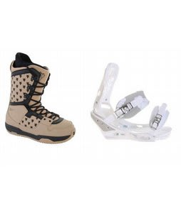 Burton Shaun White Collection Snowboard Boots w/ Burton Triad Bindings White