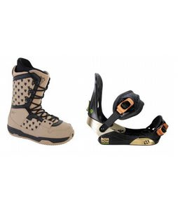 Burton Shaun White Collection Snowboard Boots w/ Morrow Invasion Bindings Black