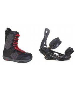 Burton Shaun White Snowboard Boots w/ Burton P1.1 Bindings Blac