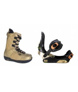 Burton Shaun White Snowboard Boots w/ Morrow Invasion Bindings Black