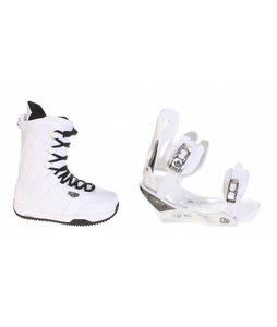 Burton Shaun White Snowboard Boots w/ Burton C60 Bindings White