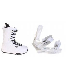 Burton Shaun White Snowboard Boots w/ Burton Triad Bindings White