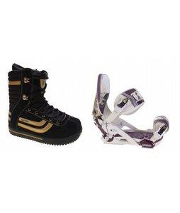 Burton Stumpy Snowboard Boots w/ Technine Mfm Pro Bindings Sand
