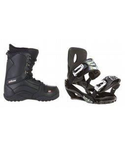 House Transition Snowboard Boots w/ Sapient Stash Bindings Black
