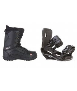House Transition Snowboard Boots w/ Sapient Wisdom Bindings Black