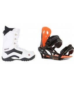 House Transition Snowboard Boots w/ Arctic Edge Team Bindings Black