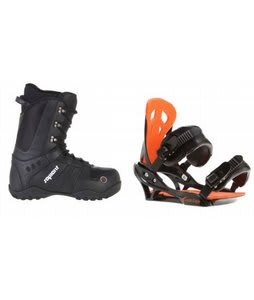 Sapient Method Snowboard Boots w/ Arctic Edge Team Bindings Black