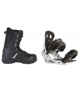 Sapient Method Snowboard Boots w/ Arctic Edge Team Bindings Silver