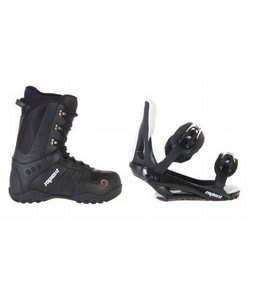 Sapient Method Snowboard Boots w/ Sapient Slopestyle Bindings Black