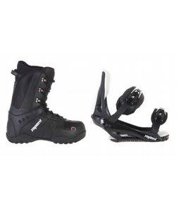 Sapient Method Snowboard Boots w/ Sapient Slopestyle Bindings Black