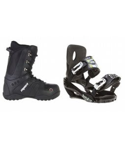 Sapient Method Snowboard Boots w/ Sapient Stash Bindings Black