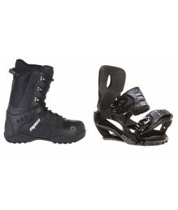 Sapient Method Snowboard Boots w/ Sapient Stash Bindings Black/Charcoal
