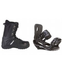 Sapient Method Snowboard Boots w/ Sapient Wisdom Bindings Black