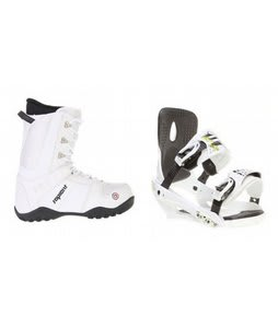 Sapient Method Snowboard Boots w/ Sapient Stash Bindings White