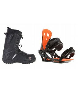 Sapient Method Speed Lace Snowboard Boots w/ Arctic Edge Team Bindings Black