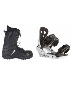 Sapient Method Speed Lace Snowboard Boots w/ Arctic Edge Team Bindings Silver