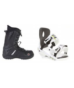 Sapient Method Speed Lace Snowboard Boots w/ Sapient Stash Bindings White