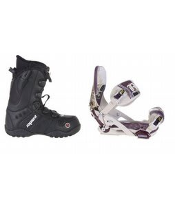 Sapient Method Speed Lace Snowboard Boots w/ Technine Mfm Pro Bindings Sand