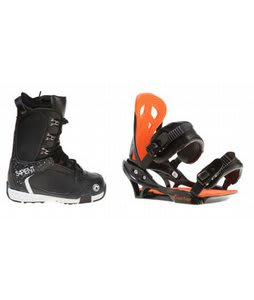 Sapient Yeti Snowboard Boots w/ Arctic Edge Team Bindings Black
