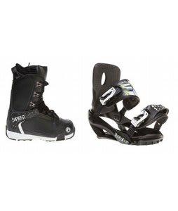 Sapient Yeti Snowboard Boots w/ Sapient Stash Bindings Black