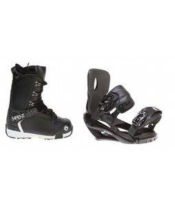 Sapient Yeti Snowboard Boots w/ Sapient Wisdom Bindings Black