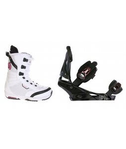 Burton Lodi Snowboard Boots w/ Burton Escapade Bindings Black Widow