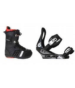 Burton Sapphire Snowboard Boot Black Burton Citizen Bindings Black