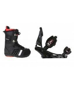 Burton Sapphire Snowboard Boot Black Burton Escapade Bindings Black Widow