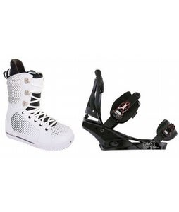 Burton Tryst Snowboard Boots w/ Burton Escapade Bindings Black Widow