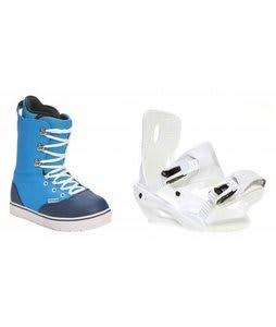 Forum Melody Snowboard Boots w/ Sapient Zeta Bindings White