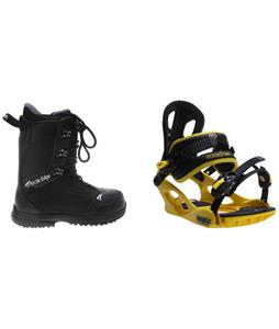 Actic Edge 1080 Boots w/ M3 Pivot Rockstar Bindings