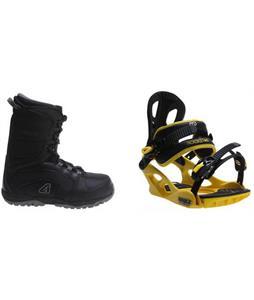Avalanche Surge Boots w/ M3 Pivot Rockstar Bindings