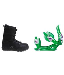 Avalanche Surge Boots w/ Rossignol Battle Bindings