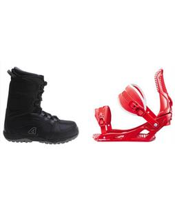 Avalanche Surge Boots w/ Rossignol Cage Bindings