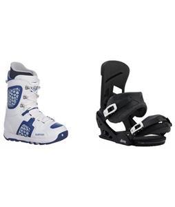Burton Freestyle Boots w/ Mission Re:Flex Bindings