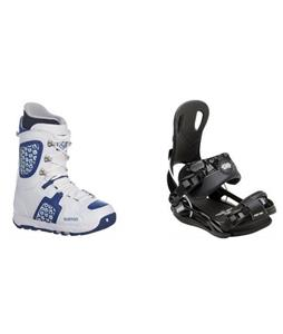 Burton Freestyle Boots w/ GNU Front Door Bindings