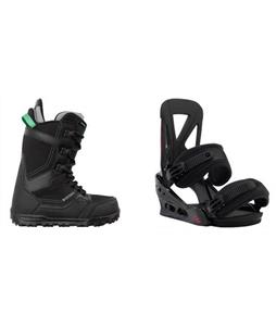 Burton Invader Boots w/  Custom Re:Flex Bindings