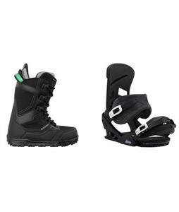 Burton Invader Boots w/  Mission Re:Flex Bindings