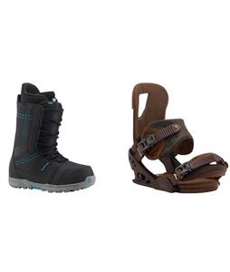 Burton Invader Boots w/  Cartel Re:Flex Bindings