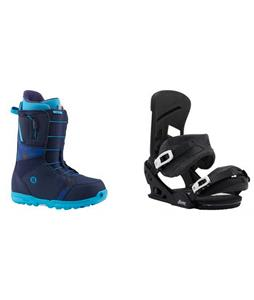 Burton Moto Boots w/  Mission Re:Flex Bindings
