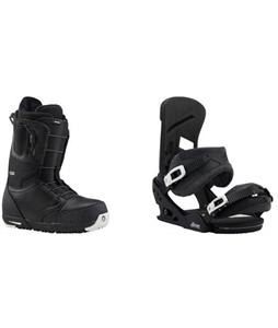Burton Ruler Boots w/  Mission Re:Flex Bindings