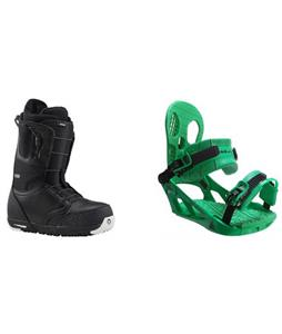 Burton Ruler Boots w/ K2 Indy Bindings