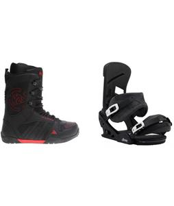 K2 Hashtag Boots w/ Burton Mission Re:Flex Bindings