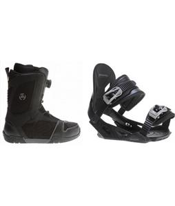 K2 Outlier BOA Boots w/ Avalanche Summit Bindings