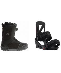 K2 Outlier BOA Boots w/ Burton Custom Re:Flex Bindings