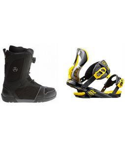 K2 Outlier BOA Boots w/ Rossignol Cobra Bindings