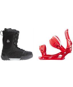 K2 Pulse Boots w/ Rossignol Cage Bindings