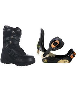 Lamar Justice Boots w/ Morrow Invasion Bindings