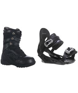 Lamar Justice Boots w/ Avalanche Summit Bindings
